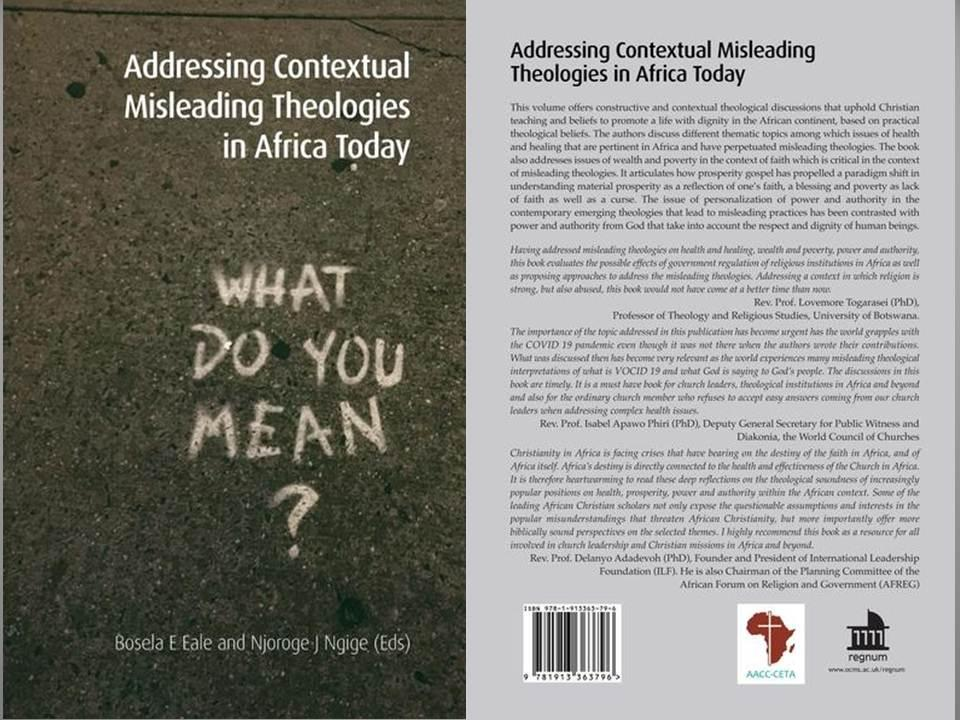 Cover book misleading theologies